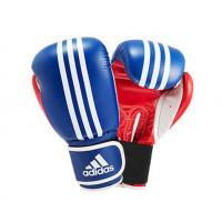 Перчатки боксерские Adidas Перчатки боксерские Response сине-красно-белые adiBT01SMU