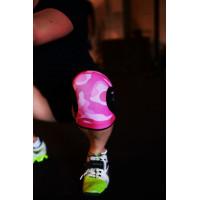 Наколенники RockTape Розовый камуфляж 5мм