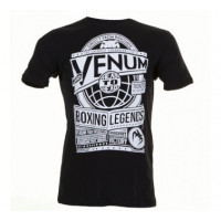 Футболка VENUM BOXING LEGENDS BLACK