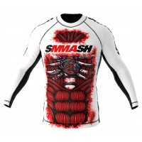 Рашгард smmash blood 2.0 white - ls