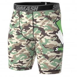 Компрессионные шорты SMMASH COMBAT GREEN