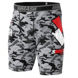Компрессионные шорты SMMASH COMBAT GREY
