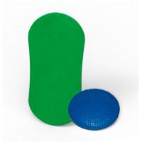 Баланс борд elements eight colors с надувным диском