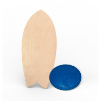 Баланс борд elements shortboard разрисуй сам с надувным диском