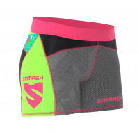 Компрессионные шорты WOMAN SHORT SMMASH CROSS WEAR GO CANDY NEON