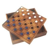 Checkers-Colored (цветные шашки) (Thai wood)