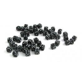 Кости игральные пластиковые, 12 мм