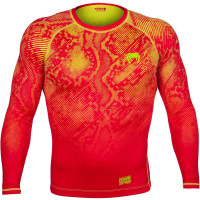 Рашгард Venum Fusion - long sleeve - orange/yellow