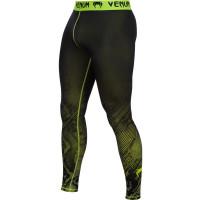Компрессионные штаны VENUM FUSION Black/Yellow