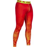 Компрессионные штаны VENUM FUSION Orange/Yellow