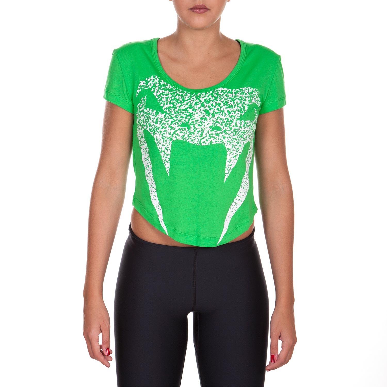 Футболка женская venum assault - green
