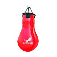 Мешок боксерский Leosport серия специалист кегля тент красный