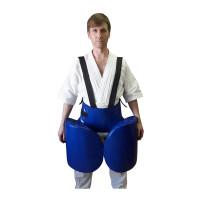 Комплект защиты leosport лоу кик тент синий