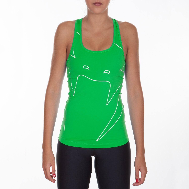 Футболка женская venum assault tank-green