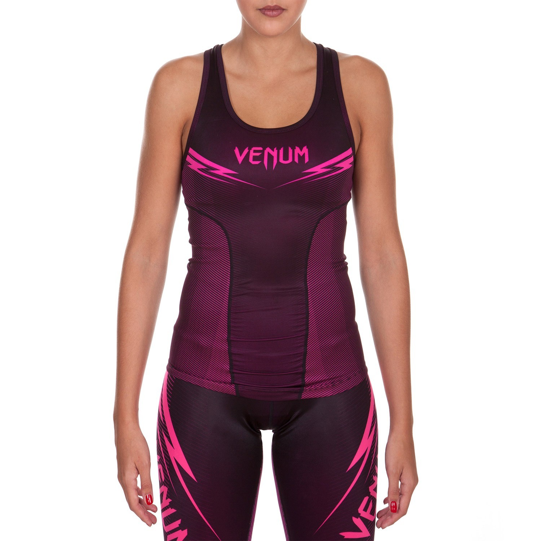 Топ женский venum razor tank top - black/pink