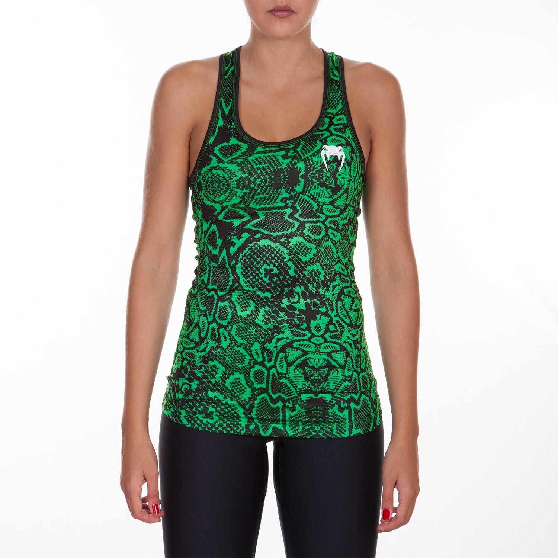 Топ женский venum fusion tank - green
