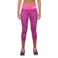 Компрессионные штаны venum fusion - pink