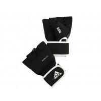 Перчатки с утяжелителями 0.5 кг Cross Country Glove черные adiBW01