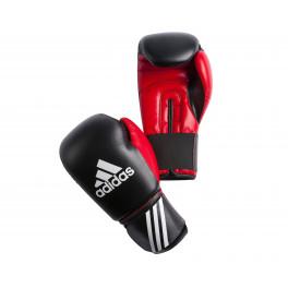 Перчатки боксерские Adidas Response черно-красные adiBT01