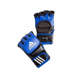 Перчатки для ММА Ultimate Fight сине-черные adiCSG041