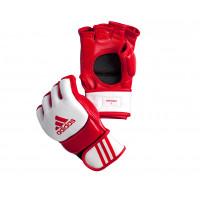 Перчатки для ММА Competition Training красно-белые adiCSG091