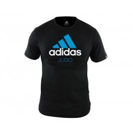 Футболка Community T-Shirt Judo черно-синяя adiCTJ