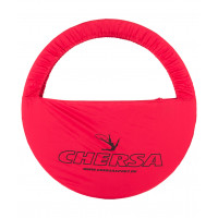 Чехол для обруча с карманом D 650, красный