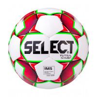 Мяч футзальный Samba IMS № 4 белый/красный/зеленый
