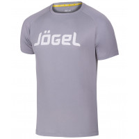 Футболка тренировочная JTT-1041-081, полиэстер, серый/белый, детская