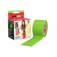 Кинезиотейп RockTape лайм-зеленый H2O