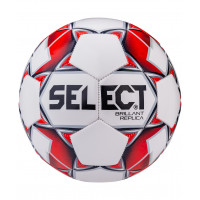 Мяч футбольный Brillant Replica №5 белый/красный/серый