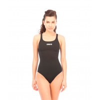 Купальник для плавания совместный Solid Swim Pro Black/White, 2A242 055
