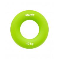 """Эспандер кистевой ES-403 """"Кольцо"""", диаметр 7 см, 10 кг, зелёный"""