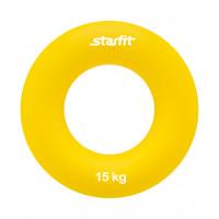 """Эспандер кистевой ES-404 """"Кольцо"""", диаметр 8,8 см, 15 кг, жёлтый"""