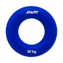 "Эспандер кистевой ES-404 ""Кольцо"", диаметр 8,8 см, 30 кг, тёмно-синий"