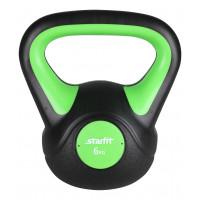 Гиря пластиковая, DB-502, 6 кг, зеленый