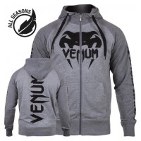 Толстовка Venum Pro Team 2.0 Summer series Grey