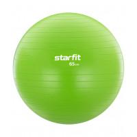 Фитбол GB-104, 65 см, 1000 гр, без насоса, зеленый, антивзрыв