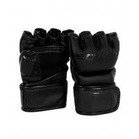 Перчатки для MMA Black Edition Flex, к/з, черный