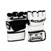 Перчатки для MMA Fluo Flex, к/з, белый