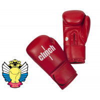 Перчатки боксерские Clinch Olimp красные