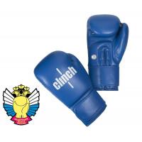 Перчатки боксерские Clinch Olimp синие