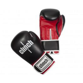 Перчатки боксерские Clinch Fight черно-красные