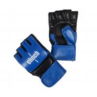 Перчатки для смешанных единоборств Clinch Combat сине-черные