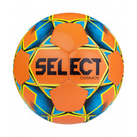Мяч футбольный Cosmos Extra Everflex 10 812110, №5, оранжевый/голубой/желтый/черный
