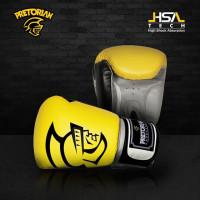 Боксерские перчатки Pretorian yellow