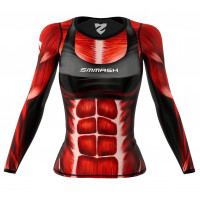 Рашгард women smmash cross wear muscle