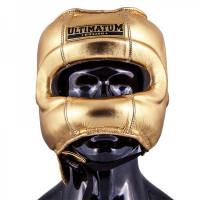 Шлем с бамперной защитой Ultimatum Gen3FaceBar gold