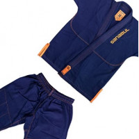 Детское gi bjj sanabul futur legend kids dark blue
