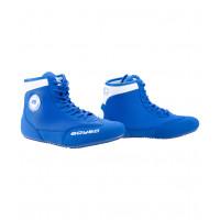 Обувь для борьбы, синий/белый